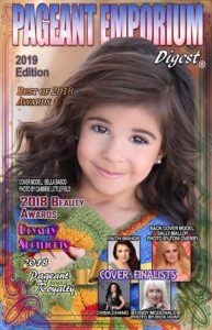 """Cover Model: Bella Basco - Photo by Cambrie Littlefield  Pageant Royalty  THAT SOS FOR US Campaign  """"BEST OF"""" Awards  Resource Directory  Beauty Awards"""